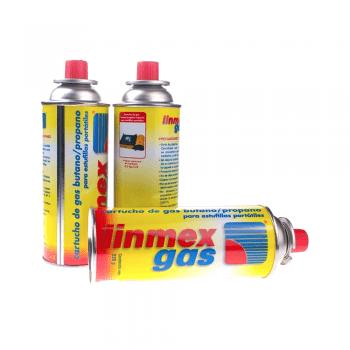 Cartucho de gas butano 275gr. LINMEX-GAS