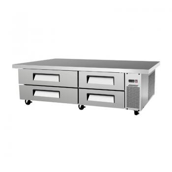 Base Refrigerada Sobrinox para Chef - 4 Cajones