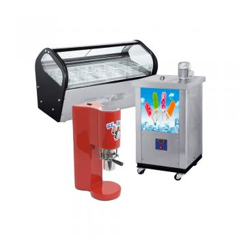 Máquinas de helados