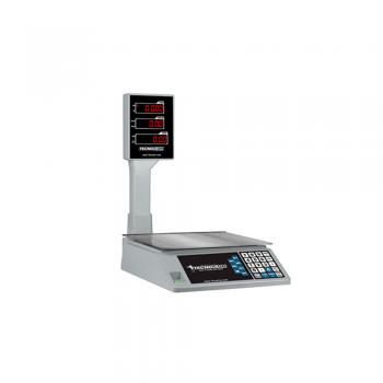 Báscula digital de bandera peso-precio