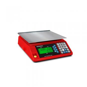 Báscula digital mostrador de peso-precio