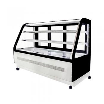 Refrigerador Vitrina Refrigerada de Piso Cristal Curvo WDF177D