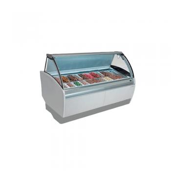 Vitrina horizontal para helados