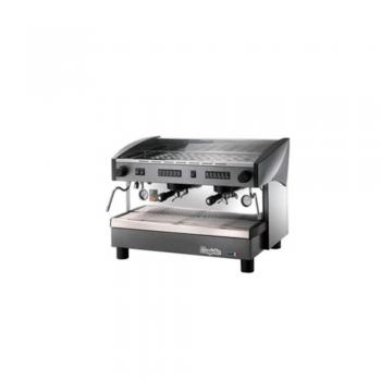 Cafetera automática electrónica con dosaje programable dos grupos