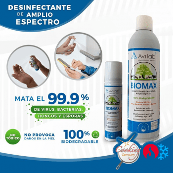 Spray BIOMAX anti COVID-19