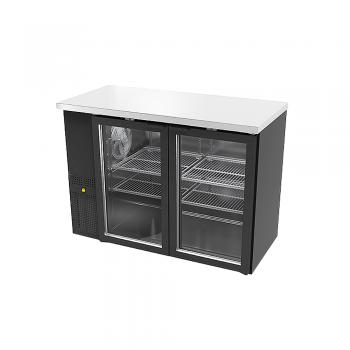 Icehouse contra barra refrigerada 2 puertas CBR-2PC-SS-01